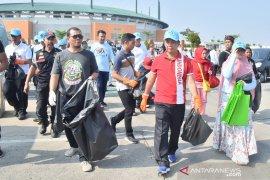 World Cleanup Day, warga Bogor lakukan aksi pungut sampah