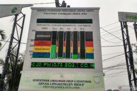 Kabut asap di Jambi pekat, kualitas udara berbahaya