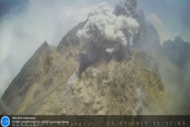 Hujan abu Gunung Merapi terjang sebagian Srumbung Magelang