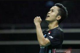 Anthony Ginting gagal ke babak dua Fuzhou China Open 2019