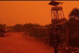 Langit merah di Jambi gara-gara fenomena hamburan mie