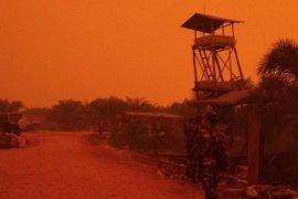 BMKG: Langit merah Jambi gara-gara fenomena hamburan mie