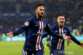 Liga Prancis - Gol Neymar  bikin PSG menang atas Lyon 1-0