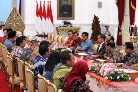 Pimpinan DPR bahas RUU KUHP dengan Presiden