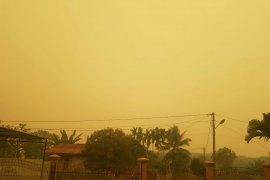 Pelaku usaha rumahan di Jambi keluhkan kabut asap