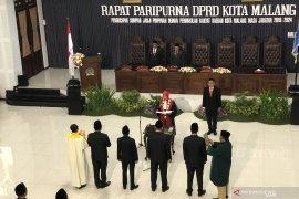 Pimpinan DPRD Kota Malang 2019-2024 resmi dilantik
