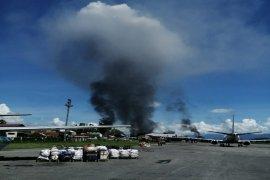 Hingga batas belum ditentukan, operasional Bandara Wamena dihentikan pasca demo anarkis