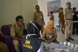 BNN Bangka tes urine 27 pegawai RSUD Depati Bahrin