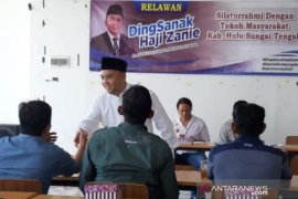 Puluhan kepala desa Kecamatan BAT dan Limpasu nyatakan dukung Haji Zanie