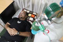 Rumah oksigen Dinas Kesehatan Kota Pontianak sudah menerima 35 pasien