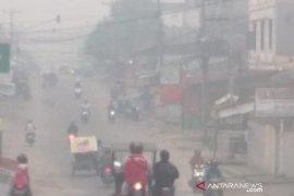 Hak kesehatan dan pendidikan warga terenggut karena asap