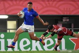 Samoa ukir kemenangan atas Rusia skor 34-9