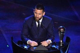 Gelar pemain terbaik dunia 2019 milik Messi