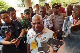 Gubernur Papua Lukas Enembe minta maaf bagi korban kerusuhan
