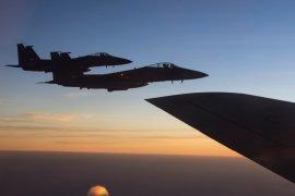 Empat pesawat tempur F-16 diterbangkan ke Natuna