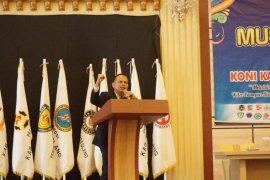 Rizka Amalia terpilih jadi Ketua KONI  Pandeglang