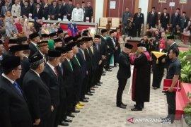 Didit Srigusjaya ditunjuk sebagai pimpinan sementara DPRD Babel 2019-2024