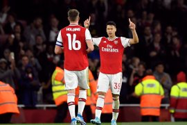 Arsenal hajar Nottingham Forest lima gol