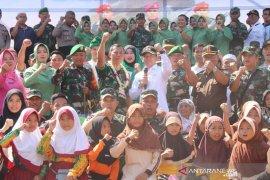 Bakti sosial Kodim 1003 Kandangan peringati HUT TNI ke-74