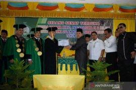 Wakil Walikota Padangsidimpuan hadiri wisuda IAIN Padangsidimpuan