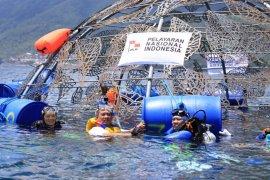 PT Pelni tanam instalasi terumbu karang di Ternate