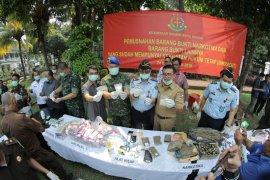 Kejari Kota Bogor musnahkan barang bukti dari 173 Kasus