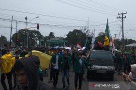 Mahasiswa Bengkulu kembali unjuk rasa desak batalkan UU KPK