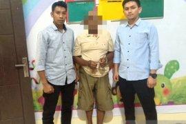 Cabuli anak tiri hingga hamil, warga Nagan Raya ditangkap polisi