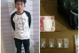 Polisi Pangkalan Susu tangkap pemilik sabu sabu dari dalam pondok
