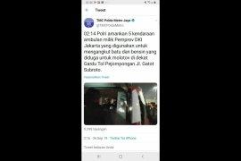 Pakar: video ambulans DKI bawa batu termasuk hoaks