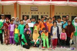 PT Timah bantu pendidikan siswa SLB Kundur