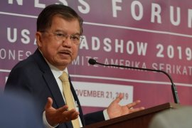 Kunjungan ke AS, Wapres JK sebut Indonesia berperan penting dalam penyelamatan bumi