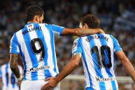 Liga Spanyol, Sociedad lumat Alaves, Celta Vigo berbagi poin dengan Espanyol