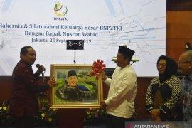 Kepala BNP2TKI Nusron Wahid berkomitmen akan perjuangkan pekerja migran Indonesia