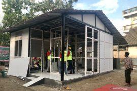 Menristekdikti uji coba bahan UPVC untuk rumah tahan gempa di Ngawi