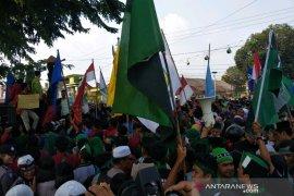 Ribuan mahasiswa demonstrasi di Padangsidimpuan tolak RUU KUHP