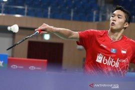 Bulutangkis Prancis Open, Jonatan amankan tiket final dengan kemenangan dramatis