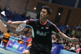 Dihadang Lee, tunggal putera Indonesia Shesar tak lanjut ke babak dua Malaysia Masters