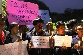 Jurnalis Hitam Jakarta tolak kekerasan