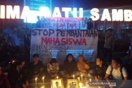 Mahasiswa Bengkulu minta Presiden ganti Kapolri dan Menkopolhukam