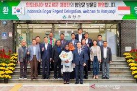 Bogor-Hamyang Gun jalin kerja sama pengembangan pariwisata