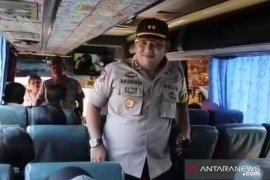 Polres Sukabumi  razia kendaraan, antisipasi pelajar ikut unjuk rasa di Jakarta
