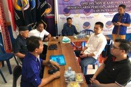 Sis daftar sebagai calon bupati ke partai Nasdem Kapuas Hulu