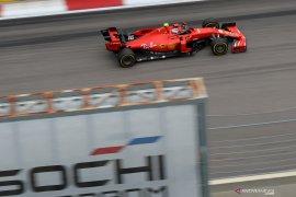 Duo Ferrari dominasi sesi latihan terakhir di Grand Prix Rusia