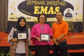Pegadaian Jambi edukasi masyarakat melejitkan kesehatan finansial dengan emas