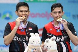 Juara Korea Open, Fajar/Rian tidak mau cepat puas