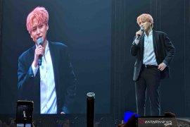 Kyuhyun pamer penampilan baru di Indonesia setelah lama absen