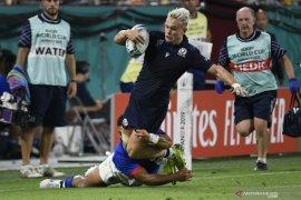 Skotlandia lawan Samoa buktikan perbedaan kekuatan menang 34-0