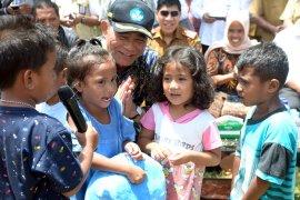 Getaran gempa magnitudo 4,1 buat siswa sekolah menghambur keluar ruangan di Ambon