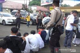 Polres Sukabumi Kota amankan puluhan pelajar akan unjuk rasa ke Jakarta